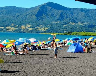 Black Sand Beach - Pucon, Chile