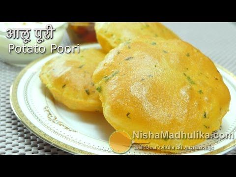 Aloo Puri Recipe - Aloo Puri Recipe In Hindi - Alu ki puri - Potato Poori - YouTube