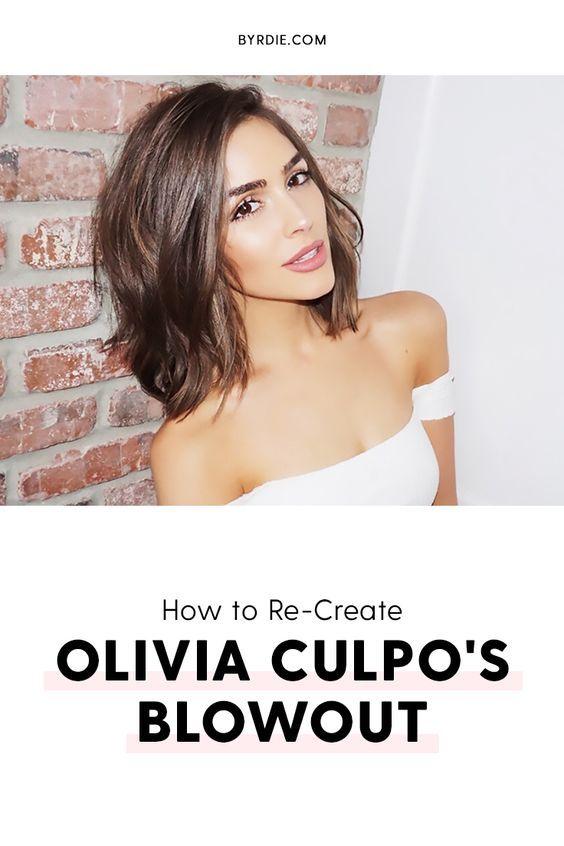 Olivia Culpo's hair tips