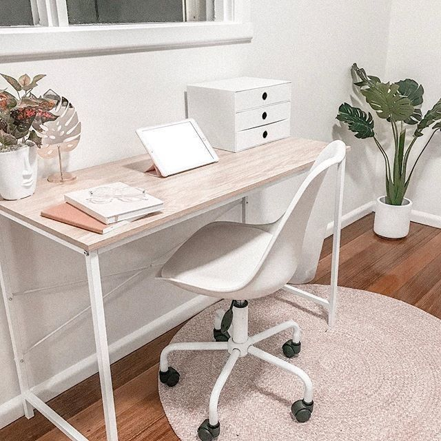 Kmart Australia On Instagram Get This Ultra Modern Home Office Look With Our Montreal Office Chair Home Office Setup Home Decor Australia Home Office Space
