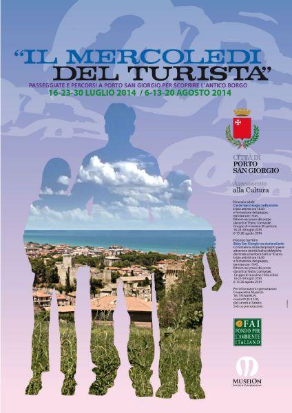 IL MERCOLEDI DEL TURISTA per adulti e bambini - Visite turistiche guidate per la città. Ritrovo ore 18.00