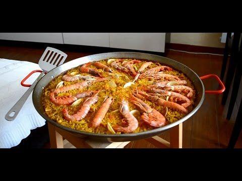 Паэлья с морепродуктами (Paella de mariscos). Испанская кухня - YouTube