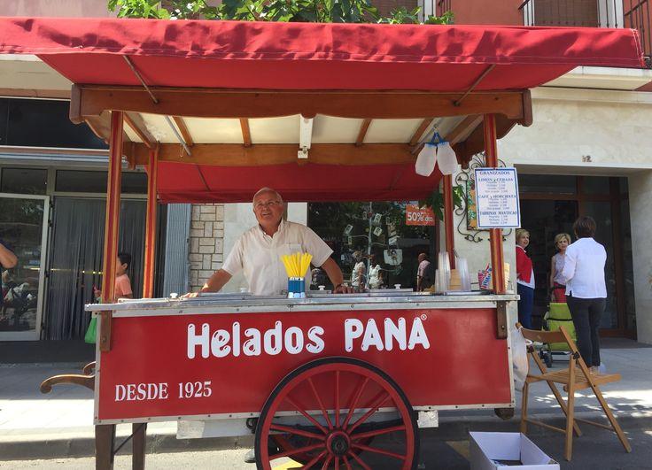 Buenos días #Alifornia! Un heladito artesano por la mañana nos alimenta y refresca de una manera especial. Como los helados Pana de #Castalla. ☀️🍦💪🏼😋 #Alicante #CostaBlanca