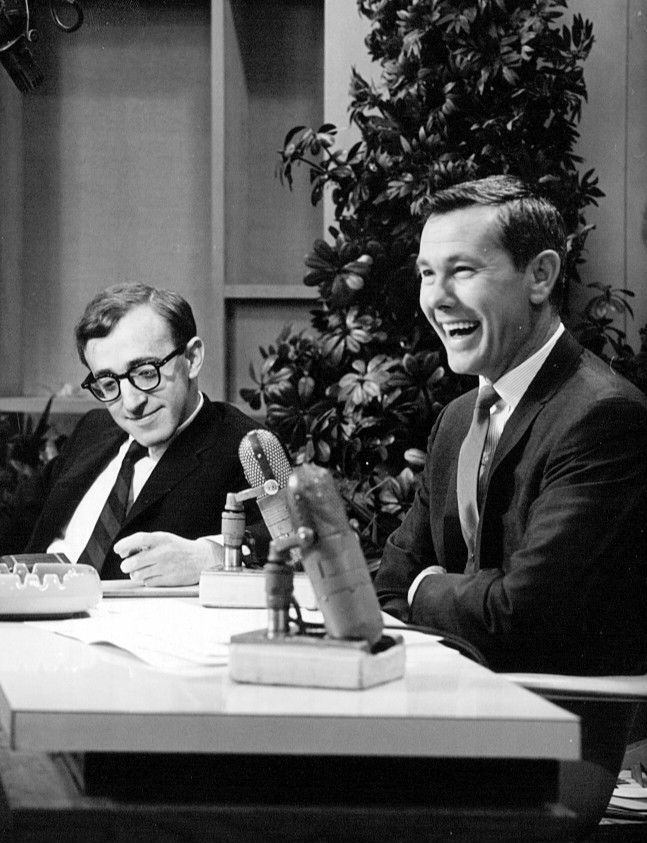 File:Johnny Carson Woody Allen The Tonight Show 1964.jpg