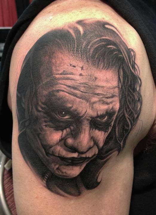 1000 images about joker tattoo 39 s xd on pinterest movie for Joker batman tattoo