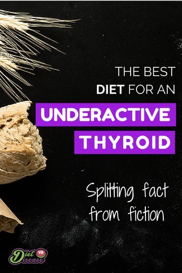 Thyroid hormones are a driving factor behind metabolic rate and weight management. As you would expect, many health problems emerge if our thyroid stops working properly. Studies show that at the very least 3.7% of American adults have an underactive thyroid. This article provides an unbiased summary of what to eat for an underactive thyroid, splitting fact from fiction. See it at http://www.dietvsdisease.org/the-best-diet-for-an-underactive-thyroid/
