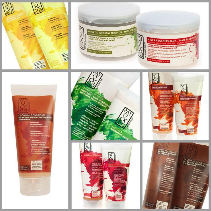Prawdziwa w 100% naturalna pielęgnacja włosów i skóry głowy. Łagodna i skuteczna. Szampony, odżywki i maski PAT & RUB, delikatnie myją i pielęgnują włosy oraz skórę głowy. Bo bez zdrowej skóry głowy nie ma mocnych, pięknych włosów!