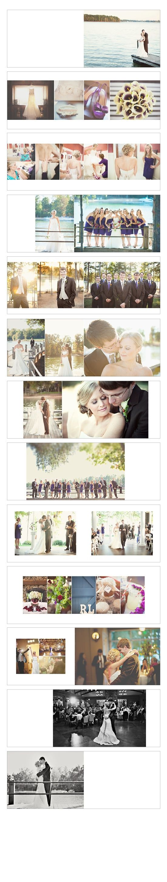 A Big Rectangular Album Maximizes Image Space But Uses Lot Of Vertical Images Note Frame