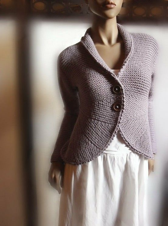 One Piece Sweater Knitting Pattern : Garn Studio pattern - knit in one piece side to side. Knitting....pattern a...