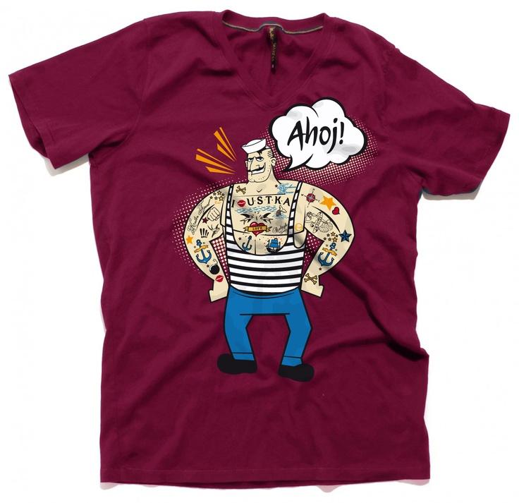 #tshirt #design #RioCreativo #Ustka #sailor #koszulka