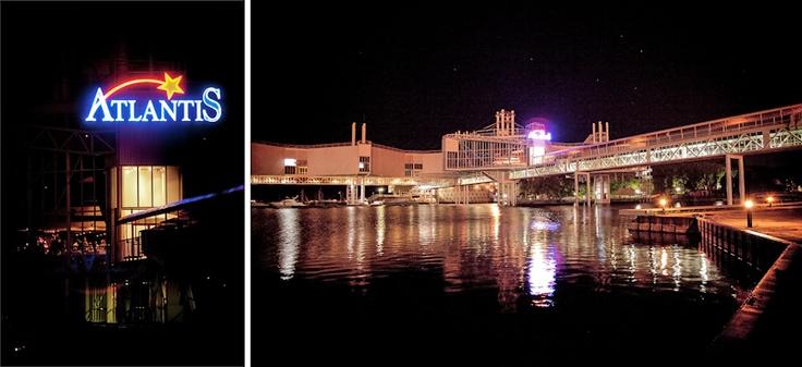 Atlantis Pavilions wedding night view