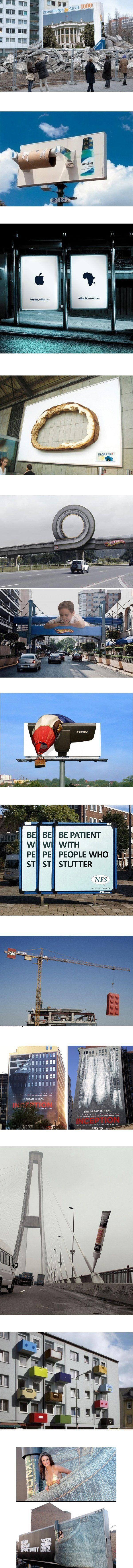 Twelve Funny Street Commercials