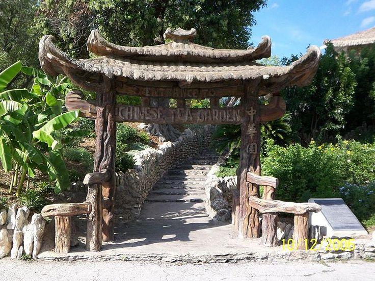 Japanese Tea Garden (renamed from Chinese Tea Garden)