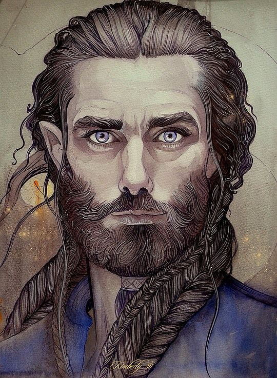 Portrait Illustrations by Kimberly80