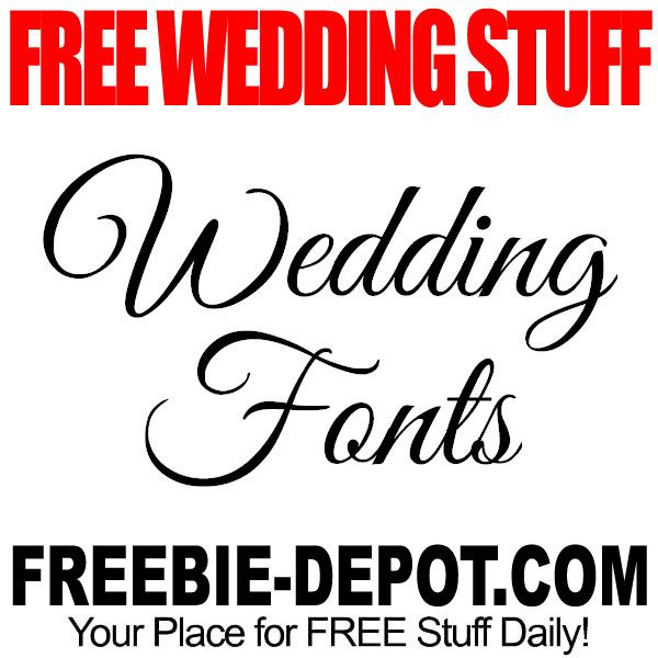 Free Wedding Stuff.Free Wedding Stuff Fonts Bride Bridetobe Engaged