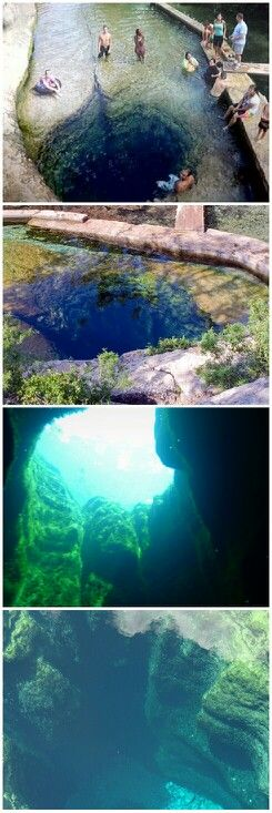 Jacob's Well near Wimberly, TX. No, I won't be jumping in! But I will go to see it!! http://www.deepbluediving.org/suunto-vyper-novo-dive-computer-review/
