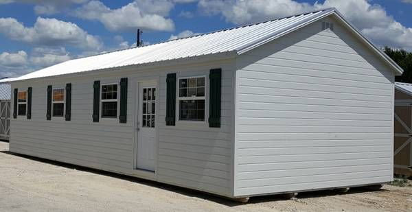 Pin by Justin Burnett on Portable Building House ...