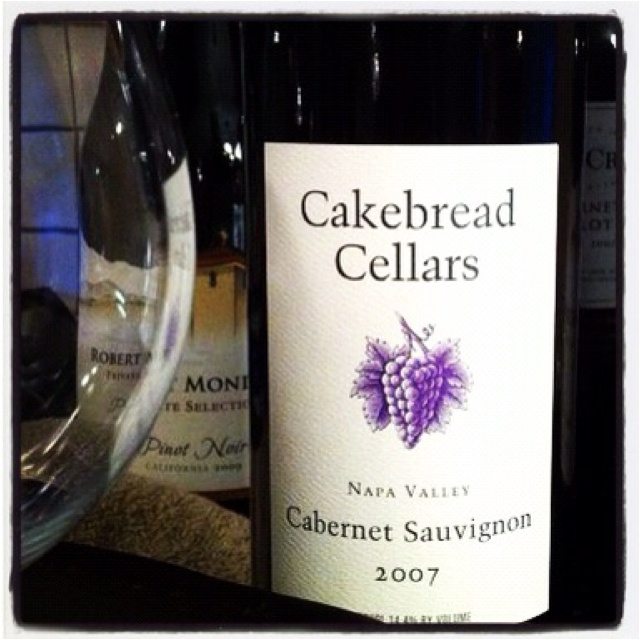 Mrs Cakebread served us dinner in her living room and took us on a private tour of the winery in Napa