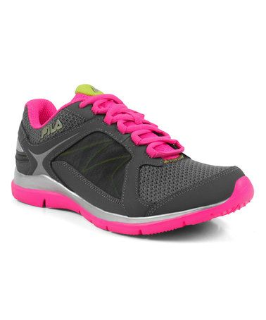 Loving this Castlerock & Pink Memory Resilient 2 Sneaker on #zulily! #zulilyfinds