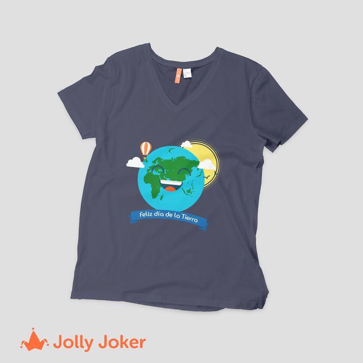Los mejores diseños para tus camisetas del día de la tierra los diseñas tu! Entra a nuestro diseñador, crea tus camisetas personalizadas y ordenalas super fácil