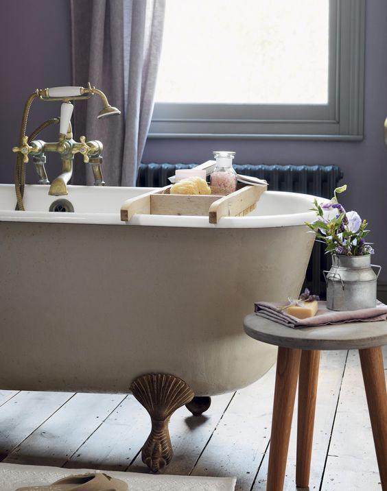 Die besten 25+ Country style purple bathrooms Ideen auf Pinterest