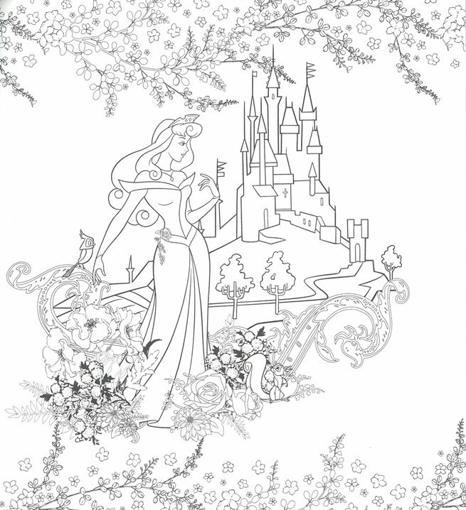disney girls coloring book pchome