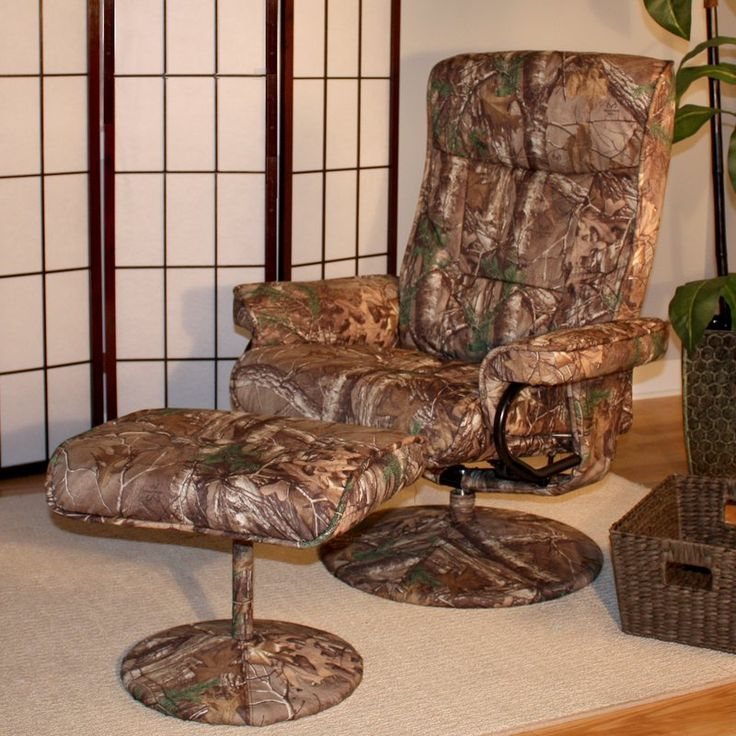 Sofa Pillows Relaxzen Recliner Massage Chair With Heat Ottoman Motor Reclining Camo Camouflage Seat