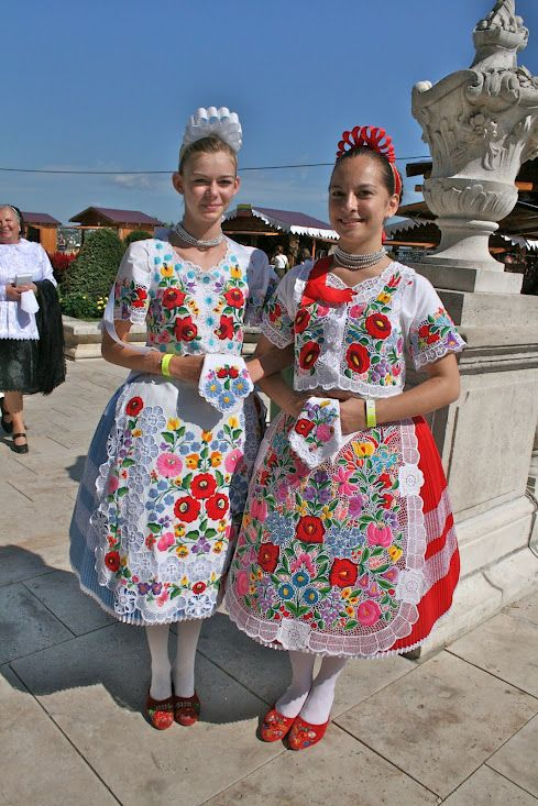 I used to folk dance in Hungary for 16 years....this outfit brings back lots of good memories...Traditional Hungarian Dress