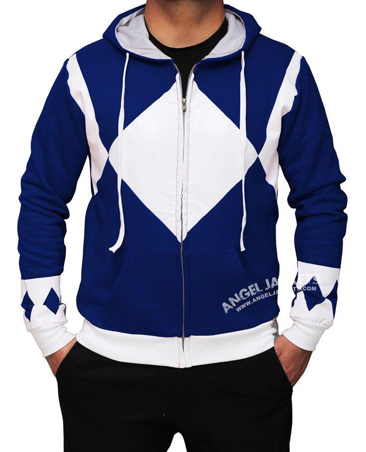 Blue Power Rangers Hoodie | Blue Rangers | Might Morphin Power Rangers