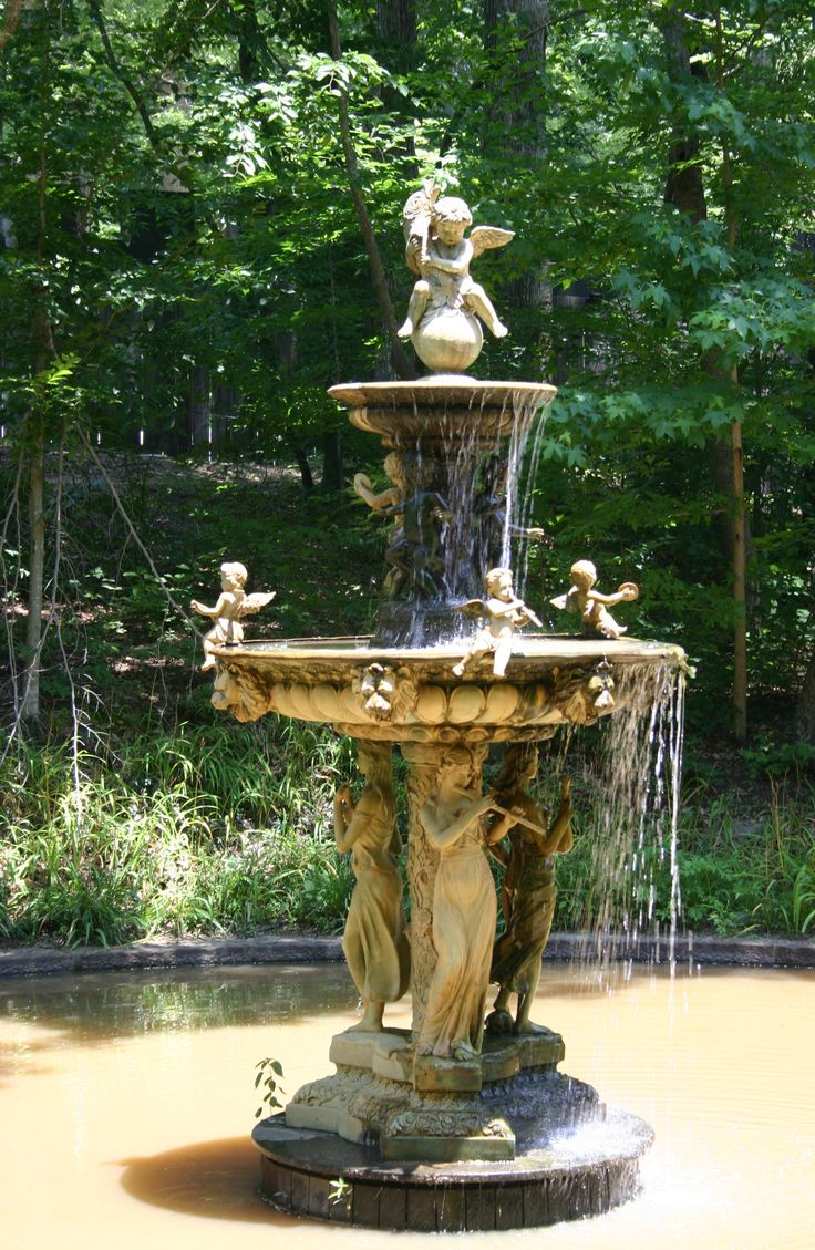16 Best Angel Fountains Images On Pinterest