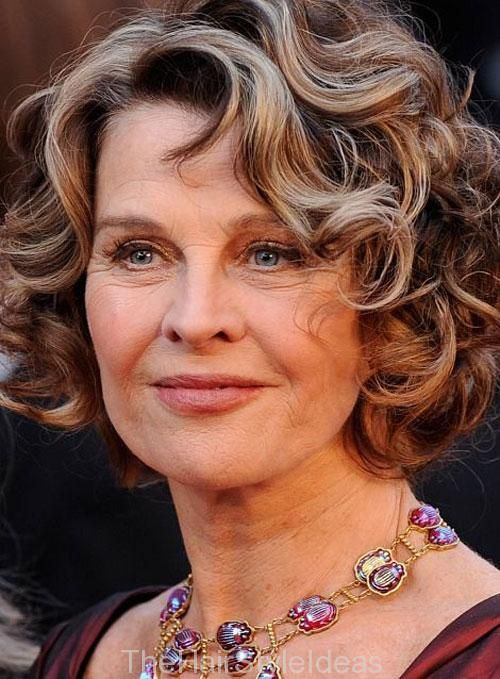 13 best Short Curly Hairstyles for Round Faces images on Pinterest ...