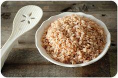 South Indian matta rice (rice cooker recipe)