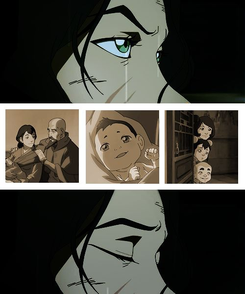 ATLA 30 day challenge: Day 24: Saddest moment of LOK - This and when we saw the past Avatars disappear.