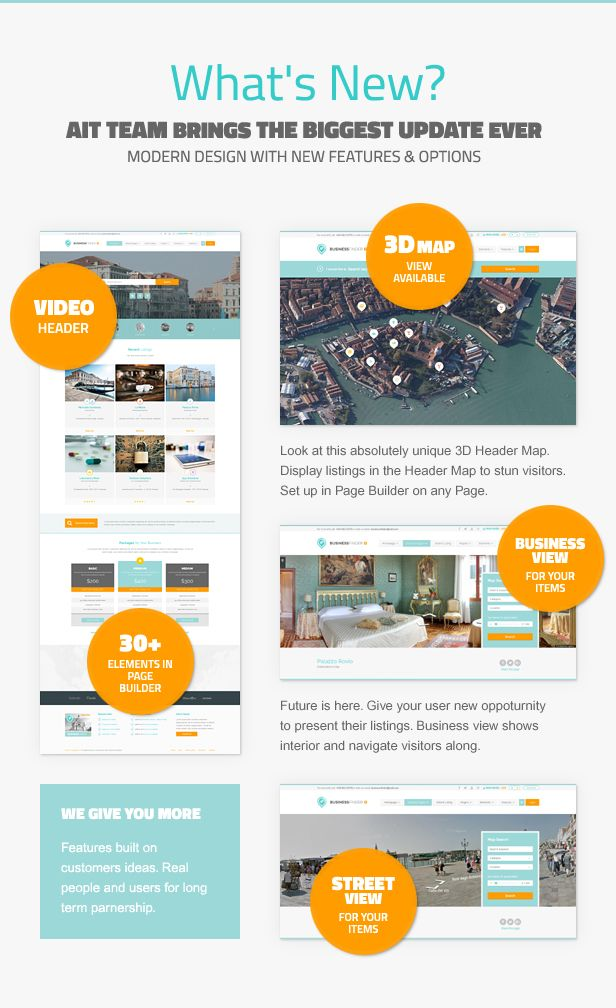 Business Finder Directory Listing Wordpress Theme Directory