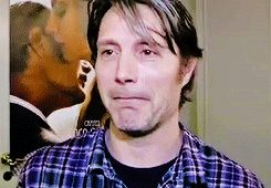 The trifecta -- mads, plaids, & the lip thing...or is it the eye flutter?