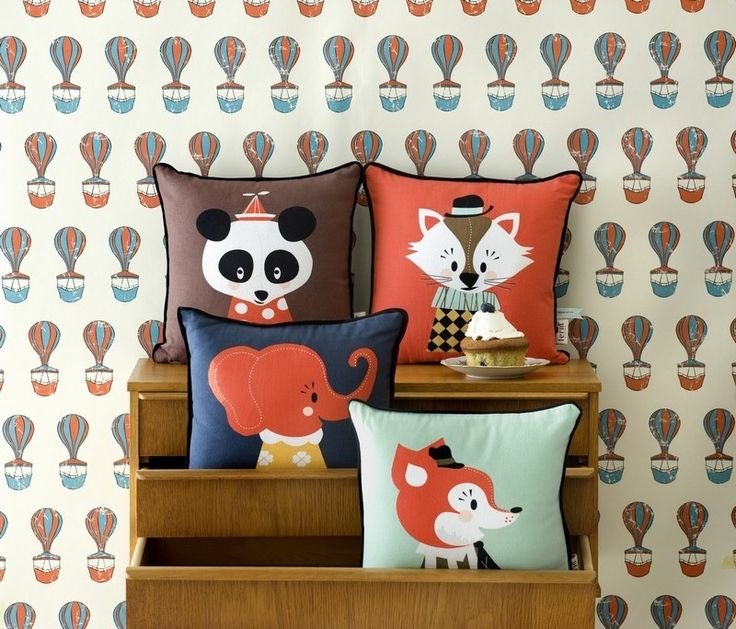 I LOVE these pillows for a nursery!