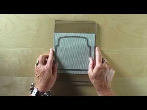 make coordinating envelope liners! Envelope Liners Framelits Dies www.melaniegiesel.stampinup.net