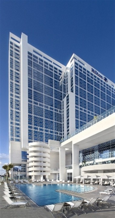 11) Hilton San Diego Bayfront: Rising 30-stories above the edge of San Diego Bay. Fusing a dynamic waterfront location, sun and sea-inspired design and casually sophisticated vibe, the Hilton San Diego Bayfront hotel offers an immersion into the essence of San Diego's unique coastal culture and lifestyle. It features 1,190 guest rooms and 30 luxury suites, each with upscale amenities and state-of-the-art technology. #coutureevents http://www.coutureeventssd.com