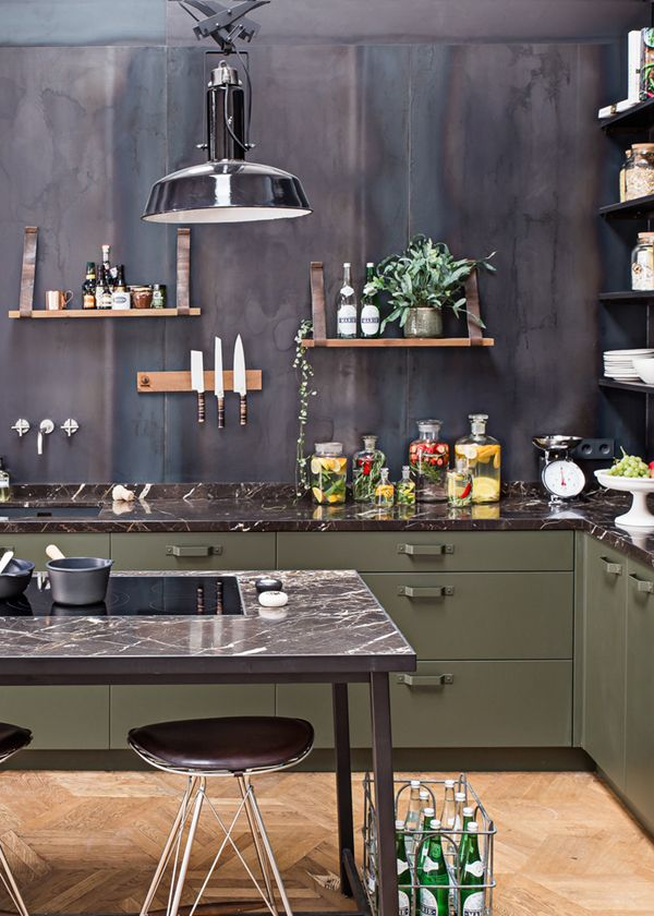Best 25 Industrial Chic Kitchen Ideas On Pinterest Loft