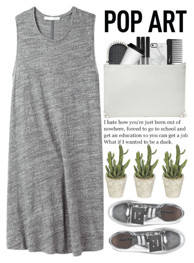 """""""i'm so done with these random waves of sadness and loneliness"""" by alienbabs ❤ liked on Polyvore featuring moda, Thakoon Addition, Sephora Collection, Earth Therapeutics, Sagaform, Uncommon, Alexander Wang, Acne Studios, clean y organized"""