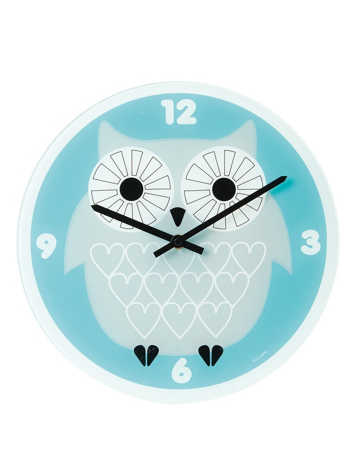 Owl Wall Clock by Present Time