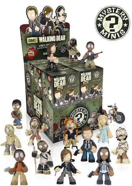 May Coming Soon: New The Walking Dead Mystery Minis! | Funko