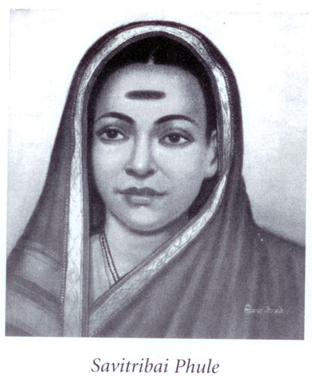 "Savitribai Phule was a social reformer, who, along with her husband, played an important role in improving women's rights in India during British rule. Savitribai was the first female teacher of the first women's school in India. In 1852 she opened a school for Dalit [""Untouchable""] girls. For this, she was pelted with garbage in the streets. She also set up a place where pregnant rape victims could deliver their babies safely rather than commit suicide as was expected of them."
