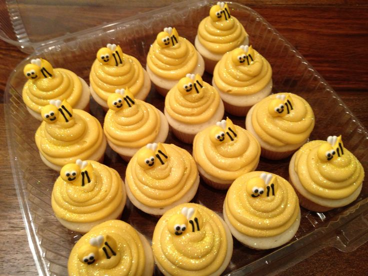 Bee Party Mini Beehive Cupcakes