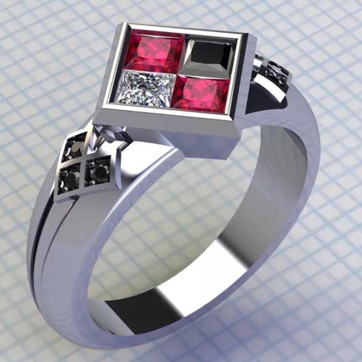 Harley Quinn Ring