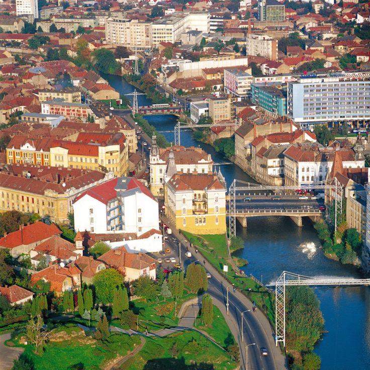 A river runs through it. | Cluj-Napoca