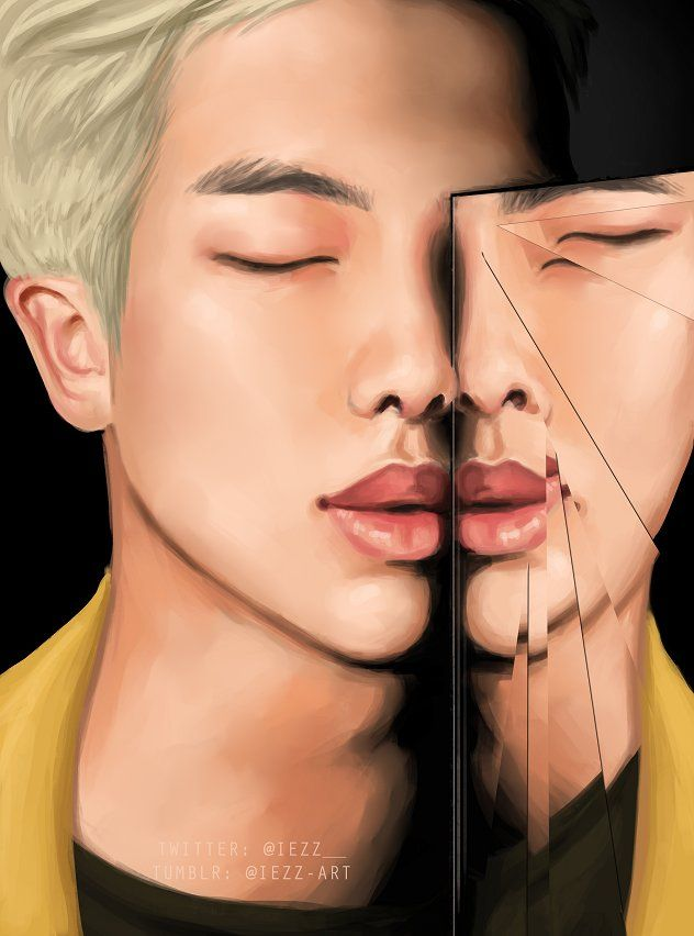 Rap Monster Art ❤ 방탄소년단 (BTS) WINGS Short Film #5 REFLECTION #BTS #방탄소년단