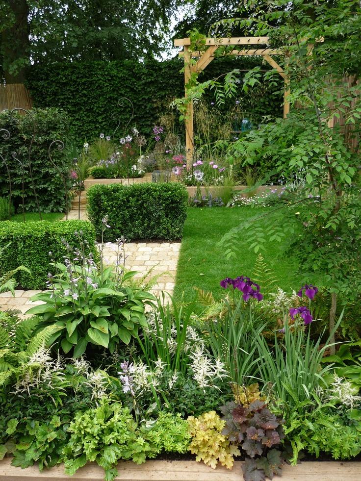 RHS Hampton Court Flower Show 2012: Photo by Matt Haddon and what a beautiful garden! #HCgrapevine