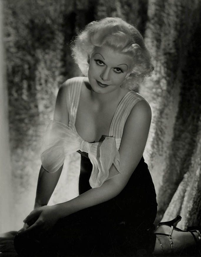 Jean Harlow, photo by George Hurrell, 1930s