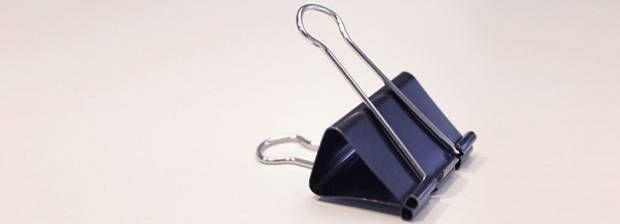 Habt ihr auch diese Papierclips zu Hause oder im Büro rumliegen? Ihr werdet staunen, was man mit Foldback-Klammern alles anstellen kann!
